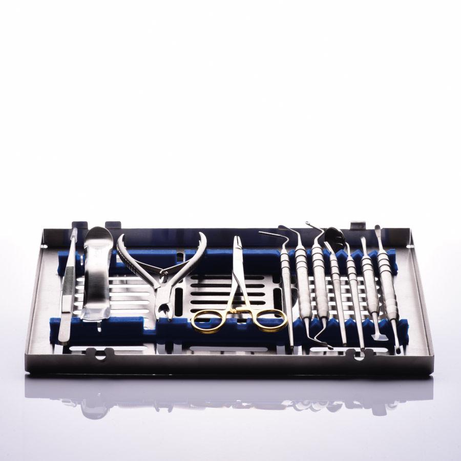 componentes da caixa de instrumento